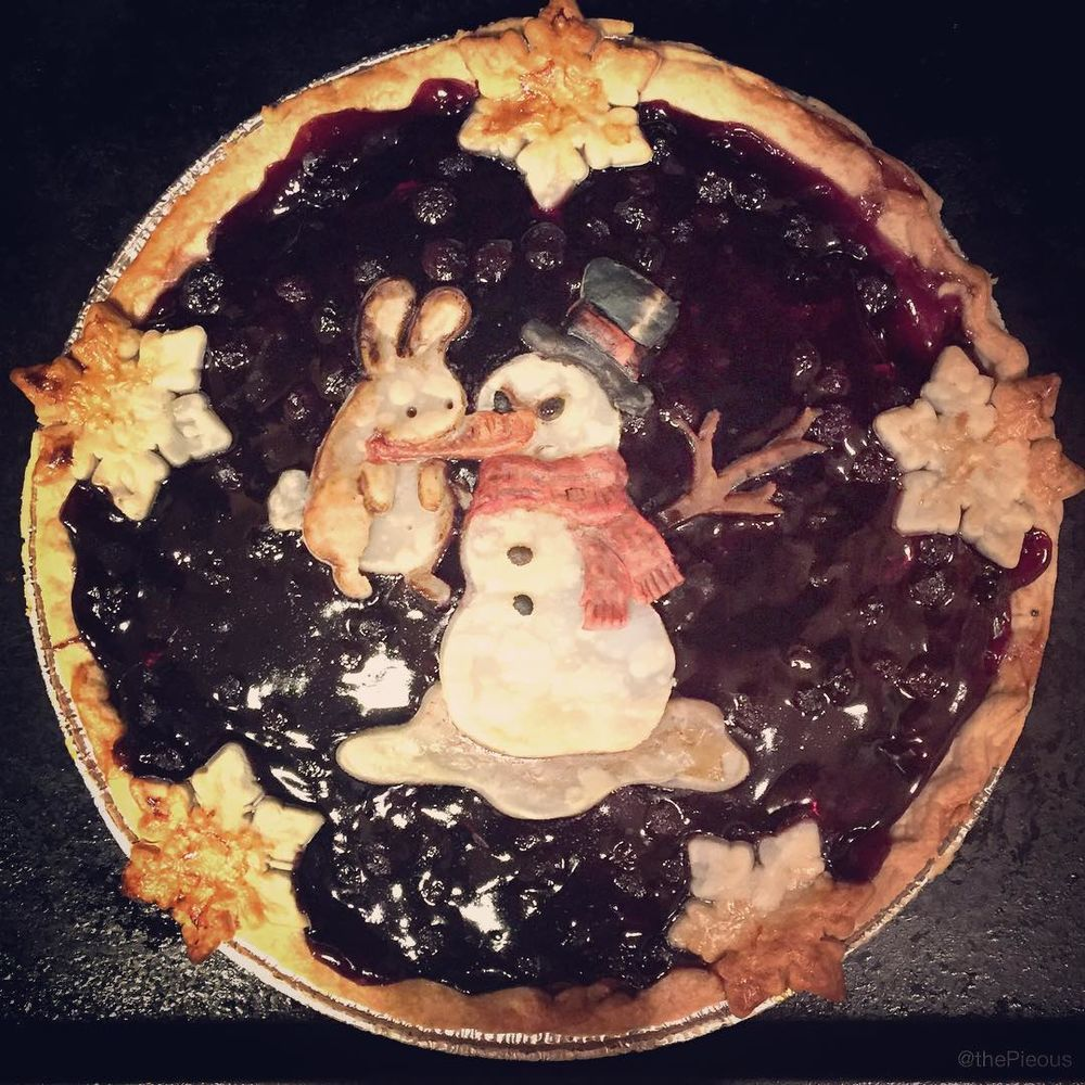 Self-Taught Cook Named Jessica Bakes Christmas Pies — And They Are Gorgeous!, фото № 4