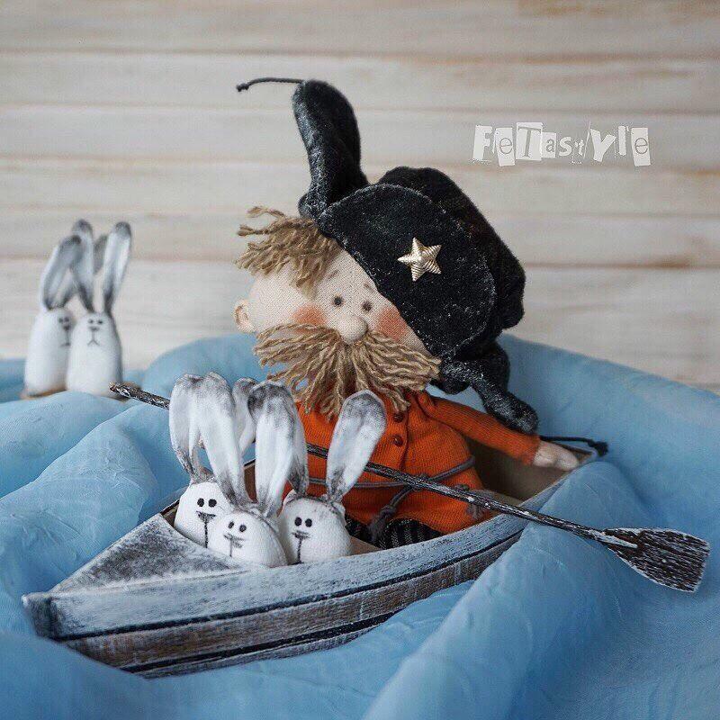 «Когда кукла в руках, она диктует» интервью с Татьяной Федотовой etastyle, фото № 2