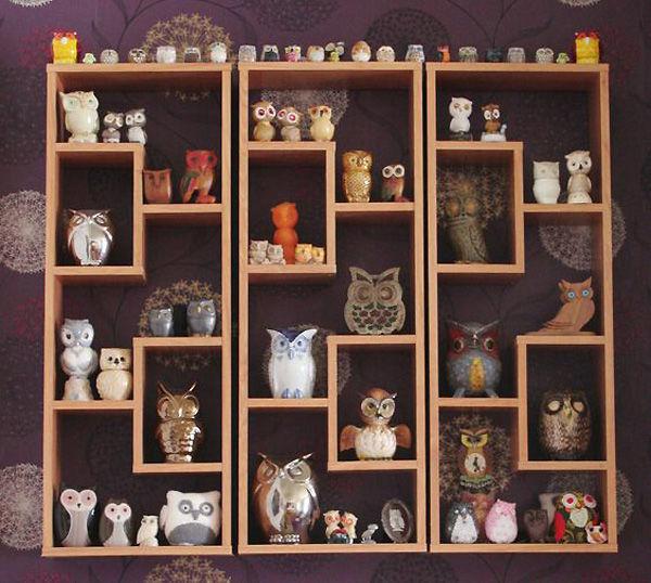 Коллекционируем красиво: 40+ впечатляющих полок для хранения коллекций, фото № 31