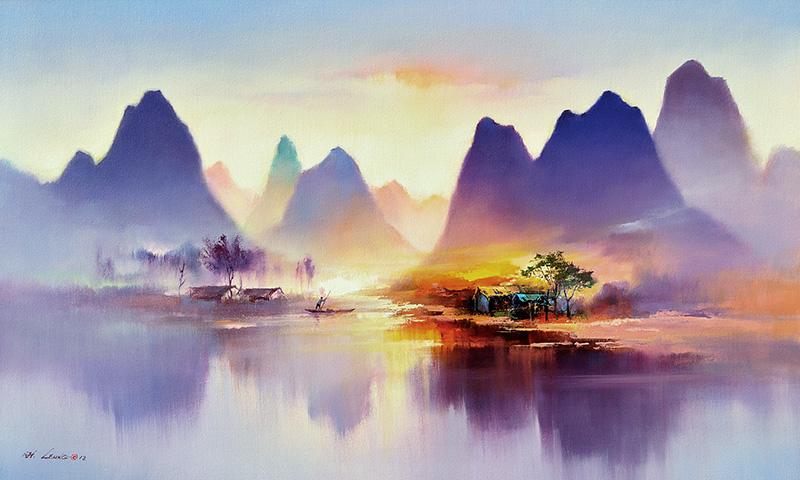 Кен Хонг Лунг — мастер волшебных пейзажей, фото № 11