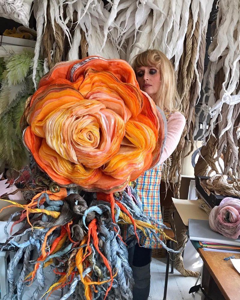 Потрясающие бумажные цветы датской художницы arianne riksen-cott ansen, фото № 18