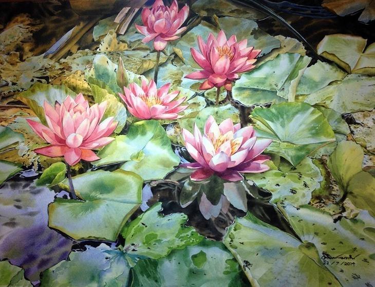 Watercolour Virtuoso: Kitipong Ti, фото № 31