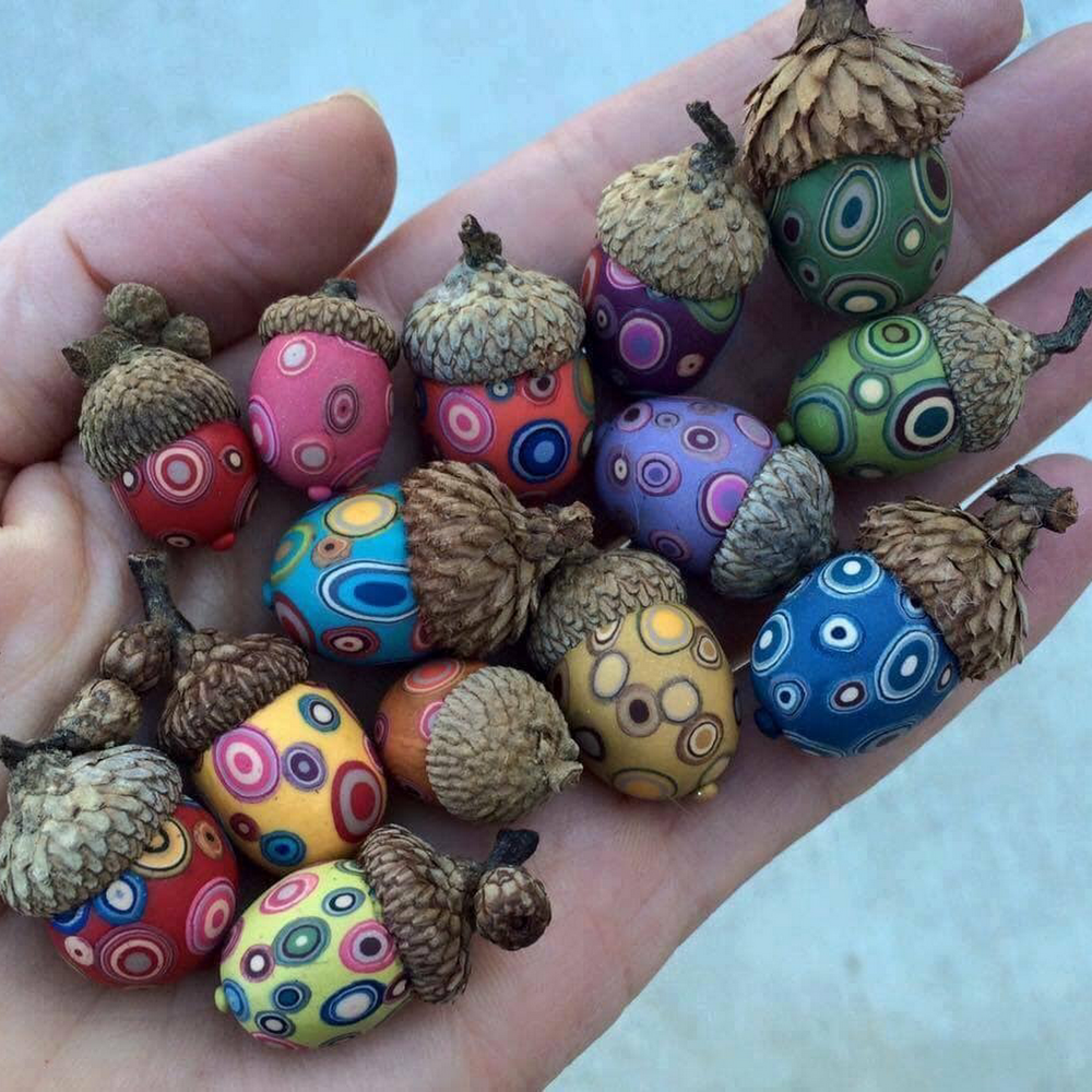 22 Autumn Ideas For Creative Use Of Acorns, фото № 12