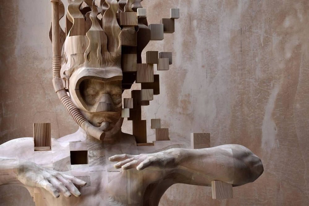 Striking Wooden Sculptures By Hsu Tung Han, фото № 8