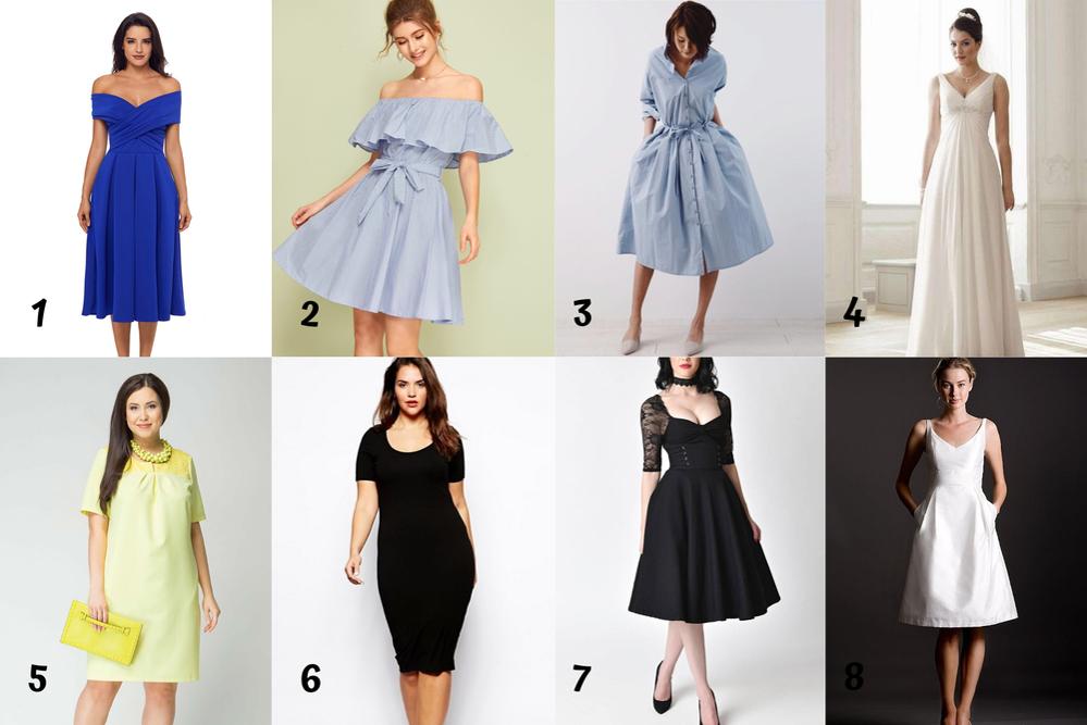 Выбор платья, часть 1. Подбор фасона по фигуре, фото № 5