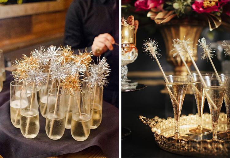 Золотой новогодний декор: 15 классных идей, фото № 37