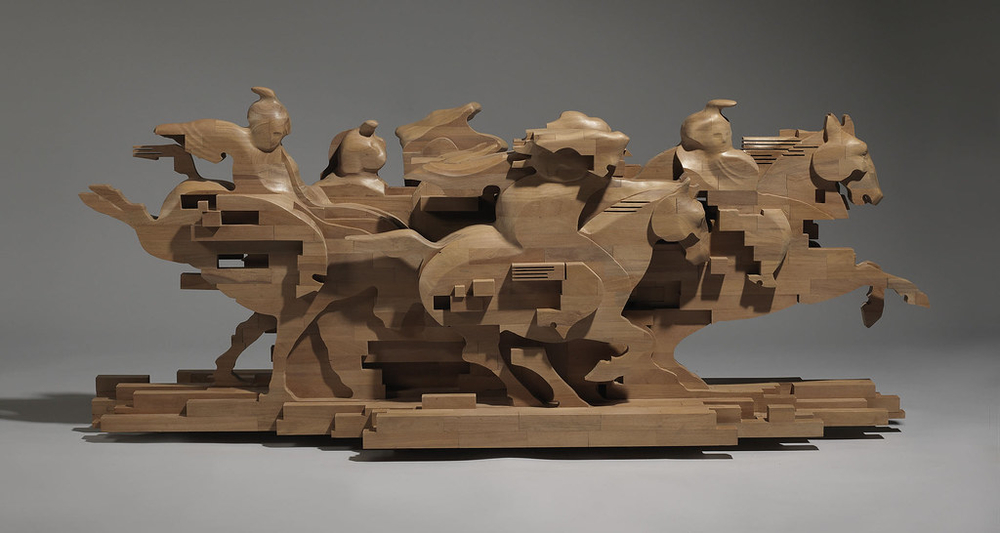 Striking Wooden Sculptures By Hsu Tung Han, фото № 21