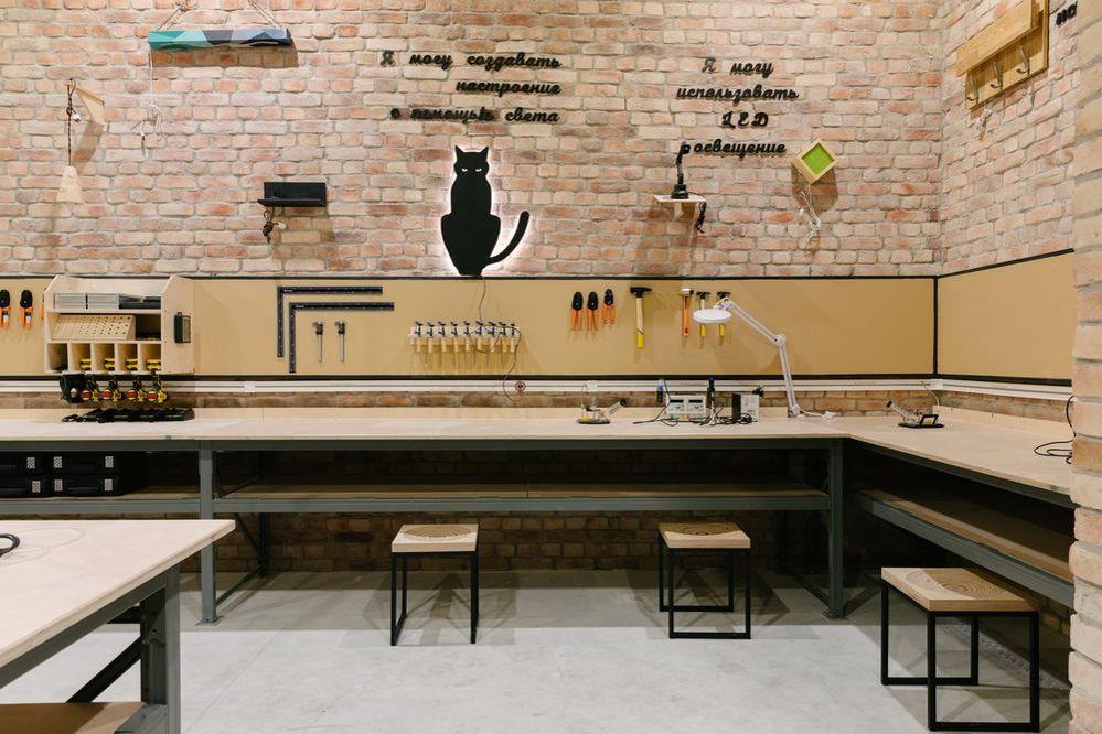Новый «Леруа Мерлен ЗИЛ» не просто строительный магазин. Там есть мастерская, свежесрезанные цветы и даже роботизированная нога!, фото № 21