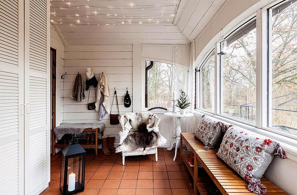 Белый цвет в дачном интерьере, фото № 10