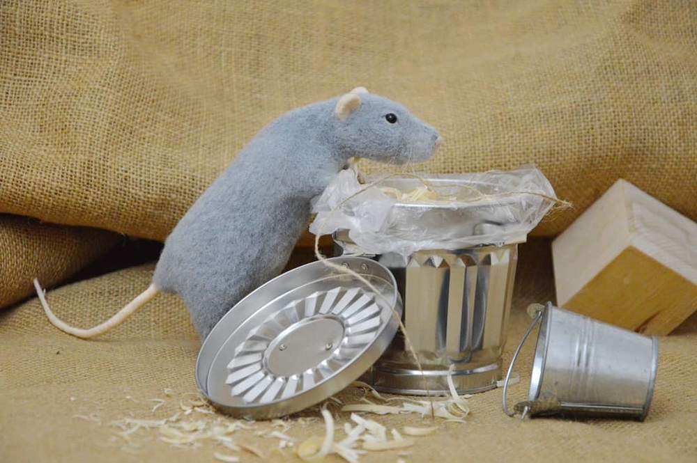 Life Of Outstanding Mice: Felted Rodents Go To Stores, Play Sports & Take Photos, фото № 11
