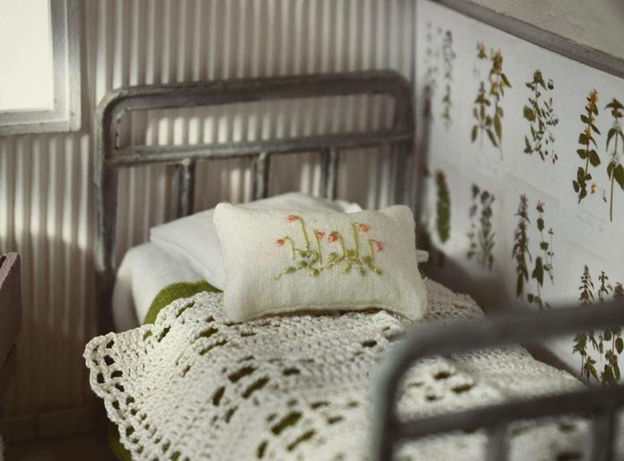 Финская художница создает дома мечты... в миниатюре, фото № 19