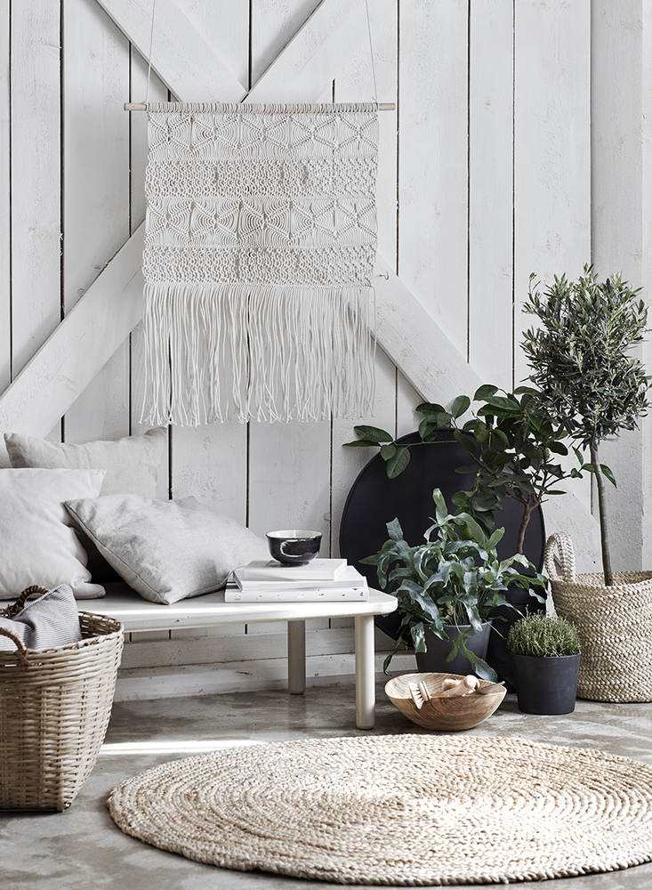 Tangled Story: 35 Ideas of Macrame in Interior, фото № 7