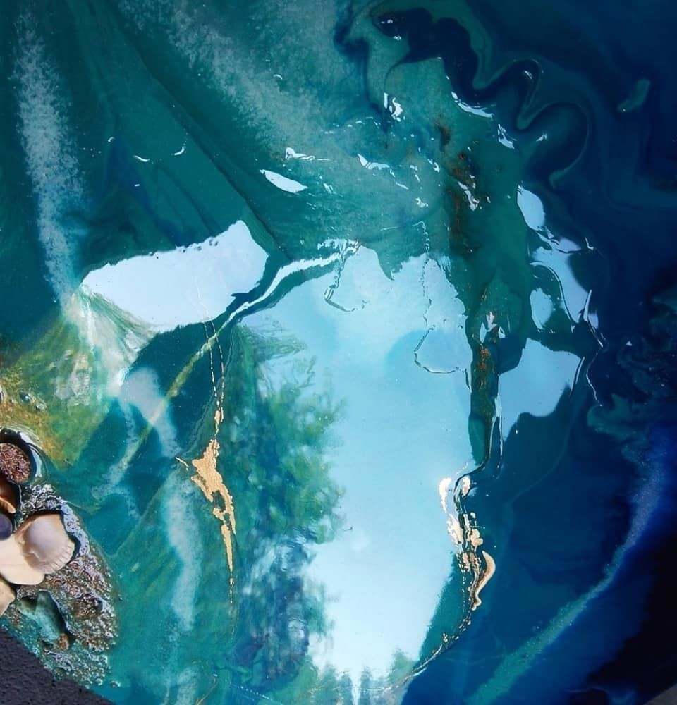 Создаем картину «Море» из эпоксидной смолы, фото № 2