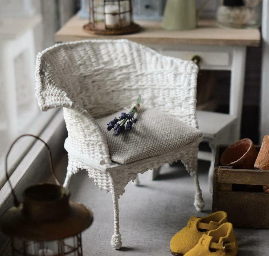 Финская художница создает дома мечты... в миниатюре, фото № 40