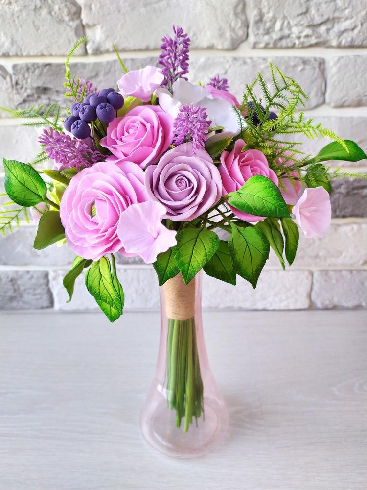 букет роз, букет с ранункулюсами