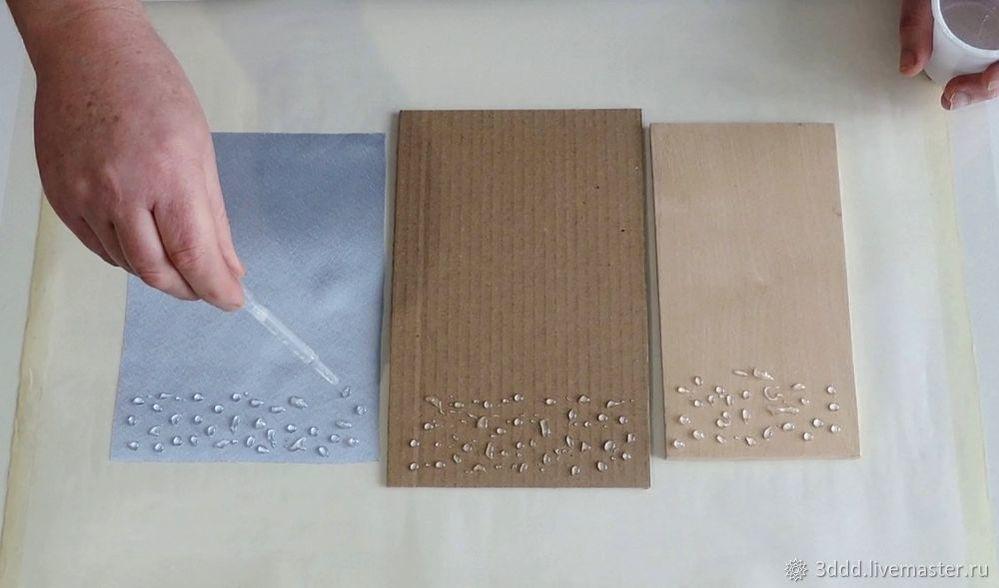 Застывший дождь, или как сделать эффект лотоса на любом материале, фото № 7