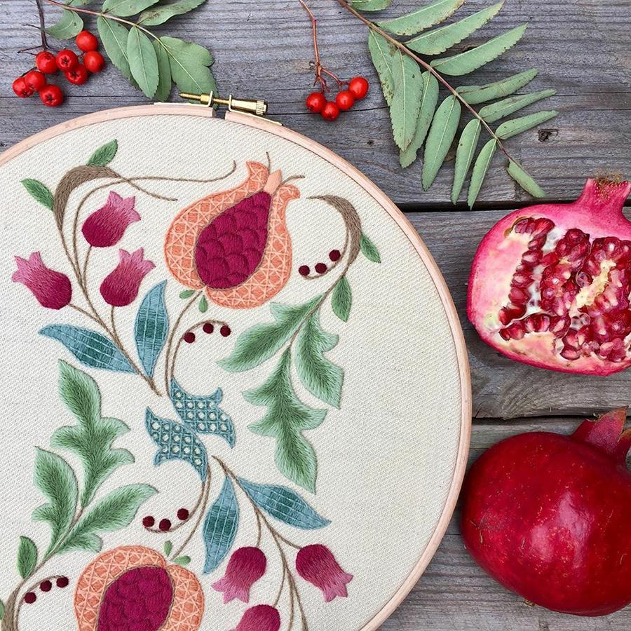 На стыке прошлого и настоящего: как британская вышивальщица возрождает культурные традиции, фото № 1