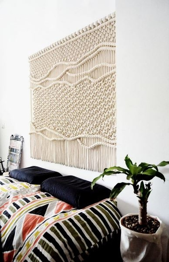 Tangled Story: 35 Ideas of Macrame in Interior, фото № 4