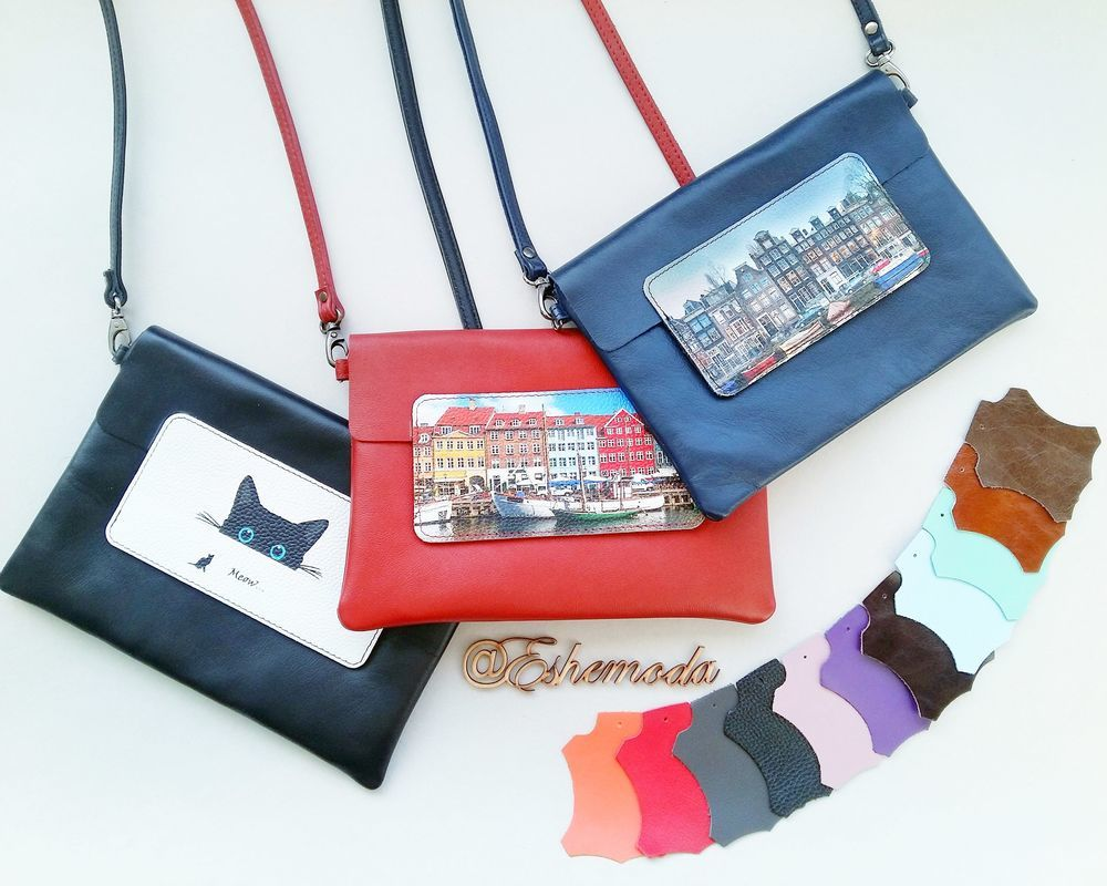 планшет, сумка на плечо, натуральная кожа, кожаная сумка