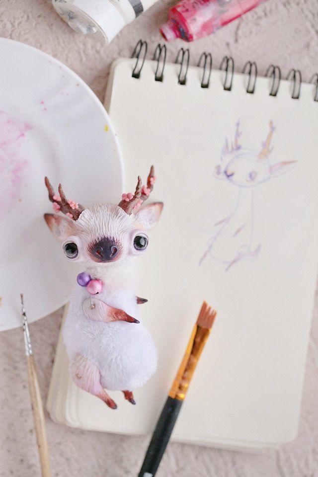 Alien Invasion Of Cuteness: 25+ Unusual Creatures By Anna Nazarenko, фото № 22