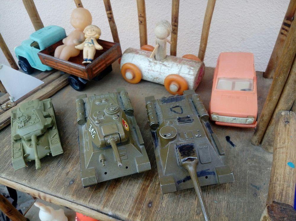 старинные игрушки