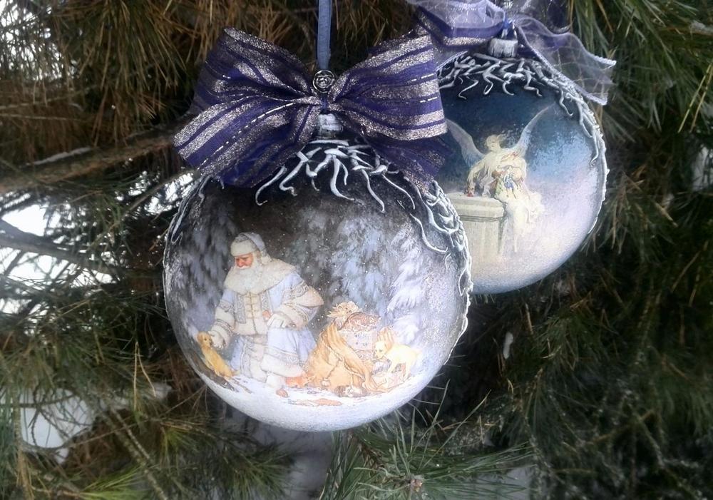 2МК за один день-Новогодний шар,Доска  «Мадам Мышка», фото № 2