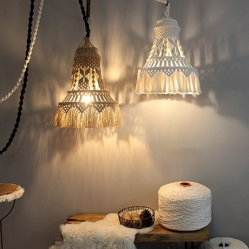 Tangled Story: 35 Ideas of Macrame in Interior, фото № 36
