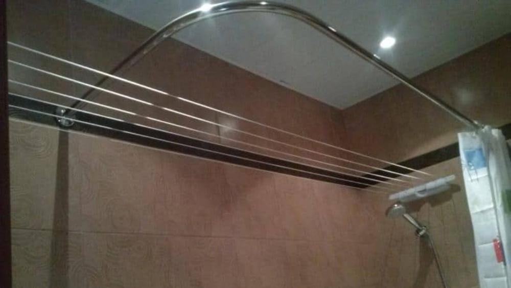 Где сушить белье в квартире красиво и удобно? (33 обычных и необычных решений), фото № 15
