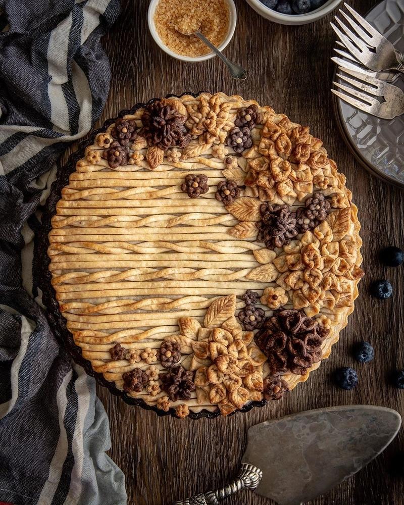 Самоучка печет пироги невероятной красоты: кулинарные шедевры от Helen Nugent + 3 секрета идеальной выпечки, фото № 5