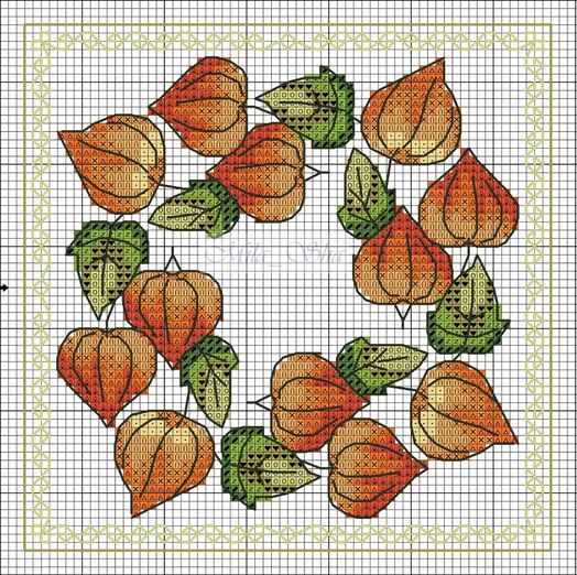In Love With Autumn: 50+ Cross Stitch Patterns, фото № 28