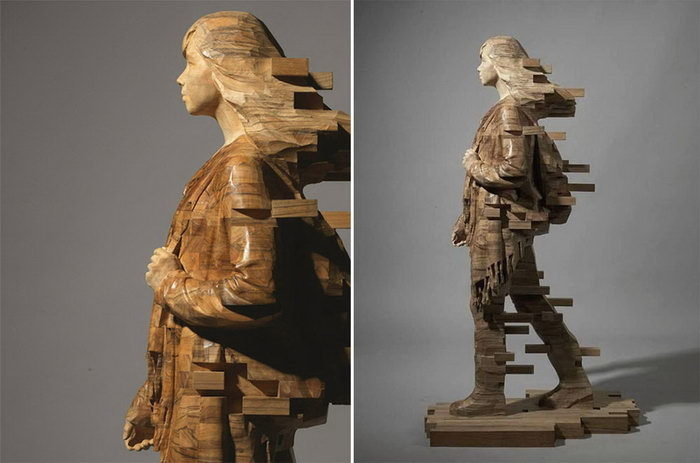 Striking Wooden Sculptures By Hsu Tung Han, фото № 25