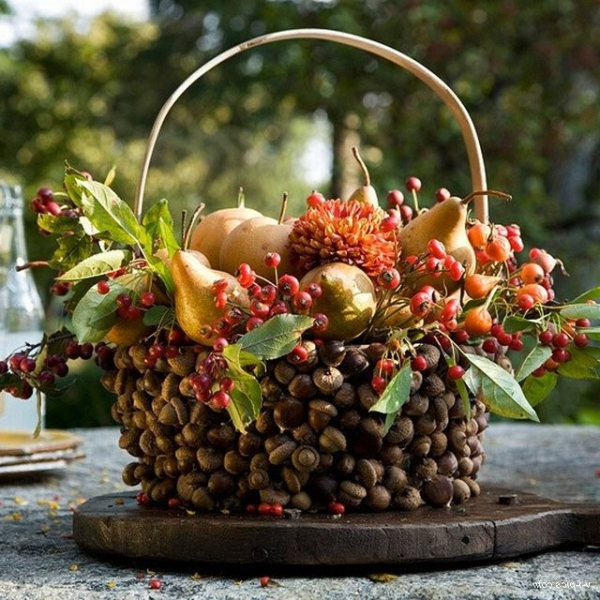 22 Autumn Ideas For Creative Use Of Acorns, фото № 13