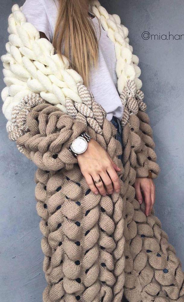 К зиме готовы! 50 идей вещей для вязания спицами, фото № 17
