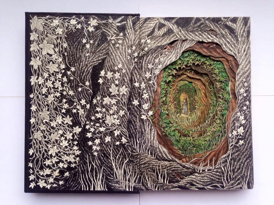 Isobelle Ouzman создаёт удивительные многослойные композиции, вырезанные из старых книг, фото № 14