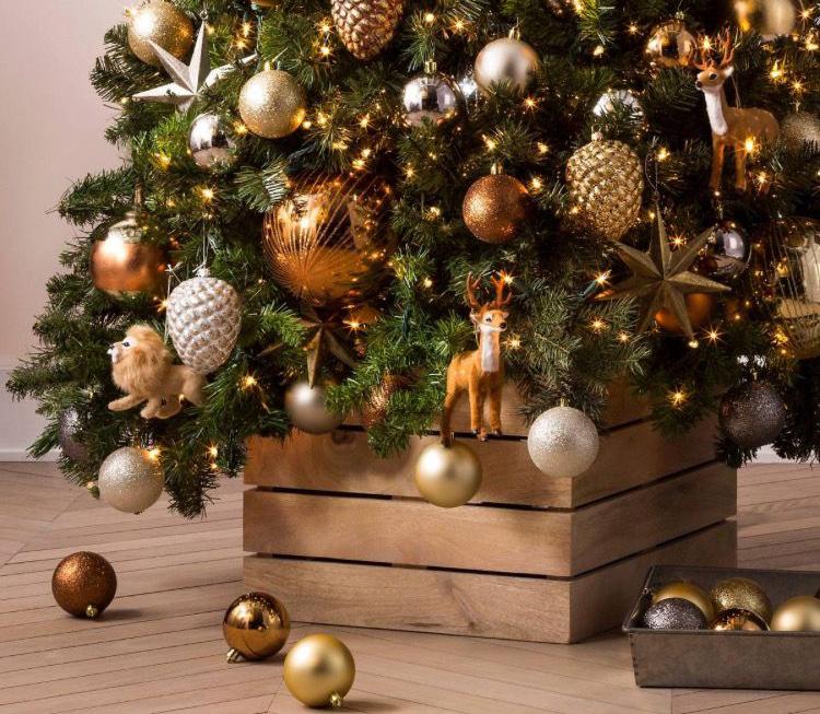 Золотой новогодний декор: 15 классных идей, фото № 1