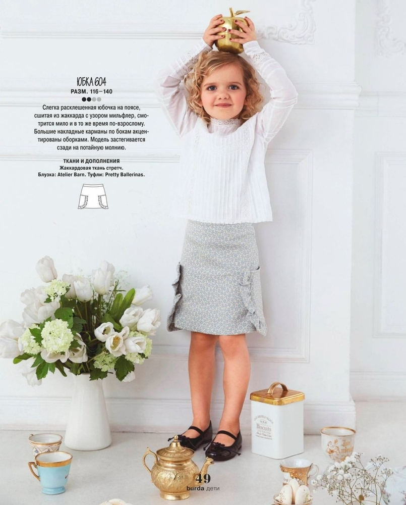 Burda Special  «Дети» , 2018 г. парад моделей, фото № 16