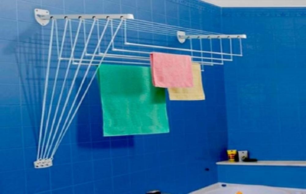 Где сушить белье в квартире красиво и удобно? (33 обычных и необычных решений), фото № 18