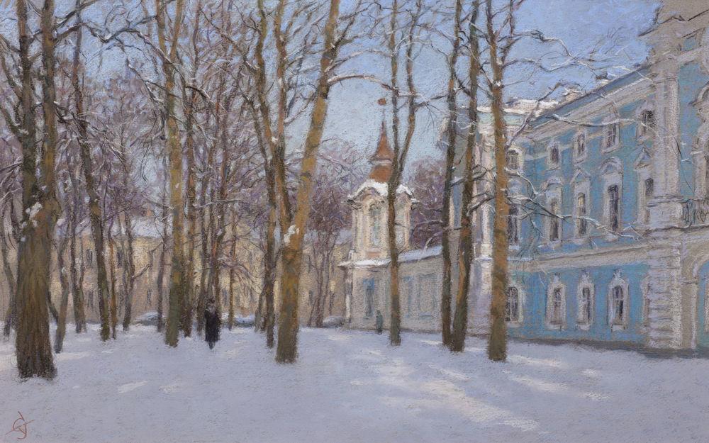 Сергей Усик. Виртуозный художник-пастелист