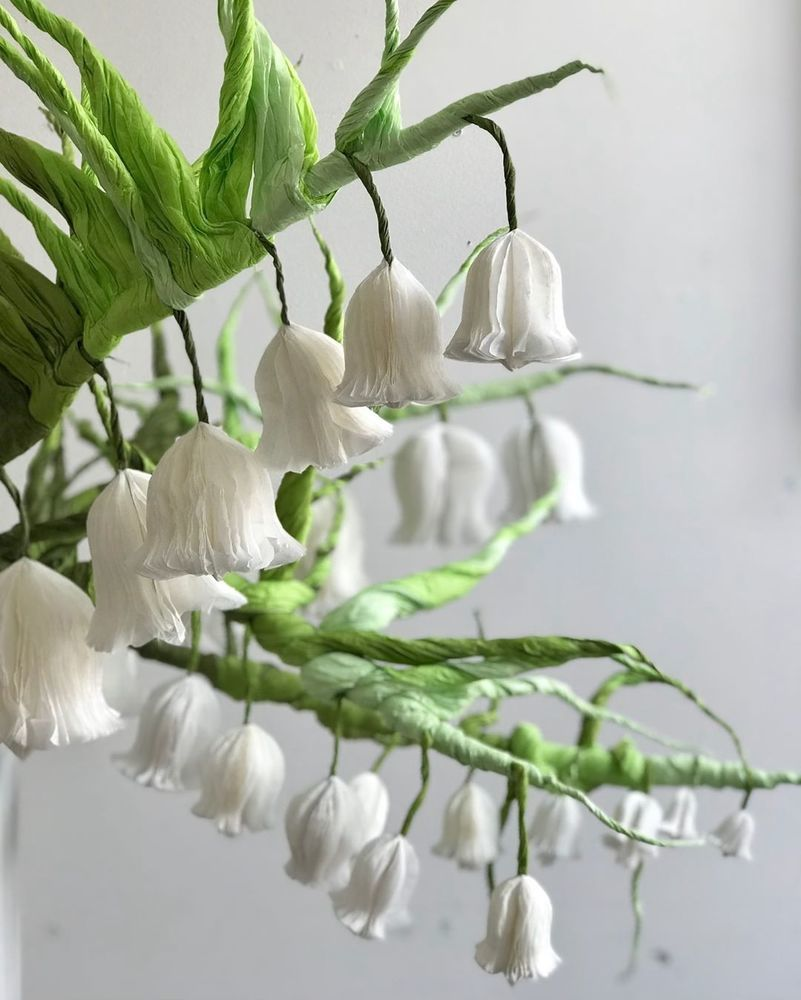 Потрясающие бумажные цветы датской художницы arianne riksen-cott ansen, фото № 23