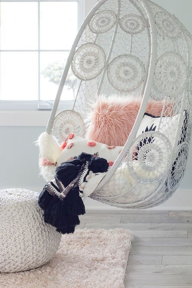 Tangled Story: 35 Ideas of Macrame in Interior, фото № 27