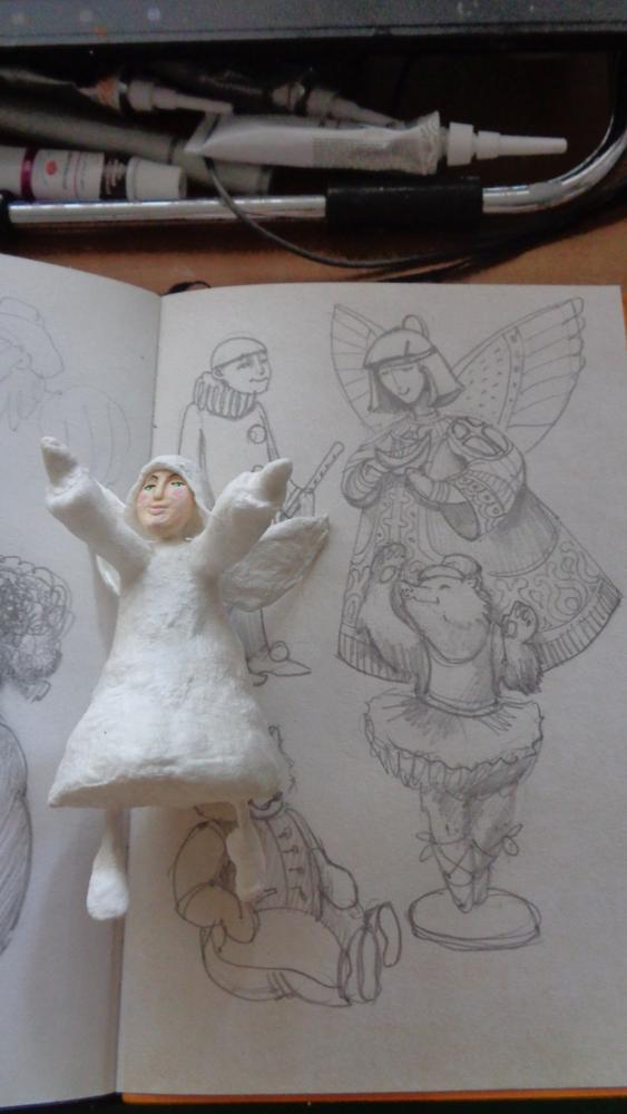 Как создать Ангела-хранителя полетов из ваты, фото № 2