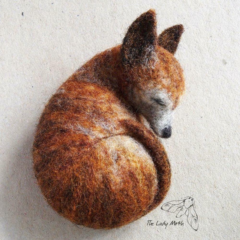 Спят усталые игрушки: трогательные малыши от Lady Moth