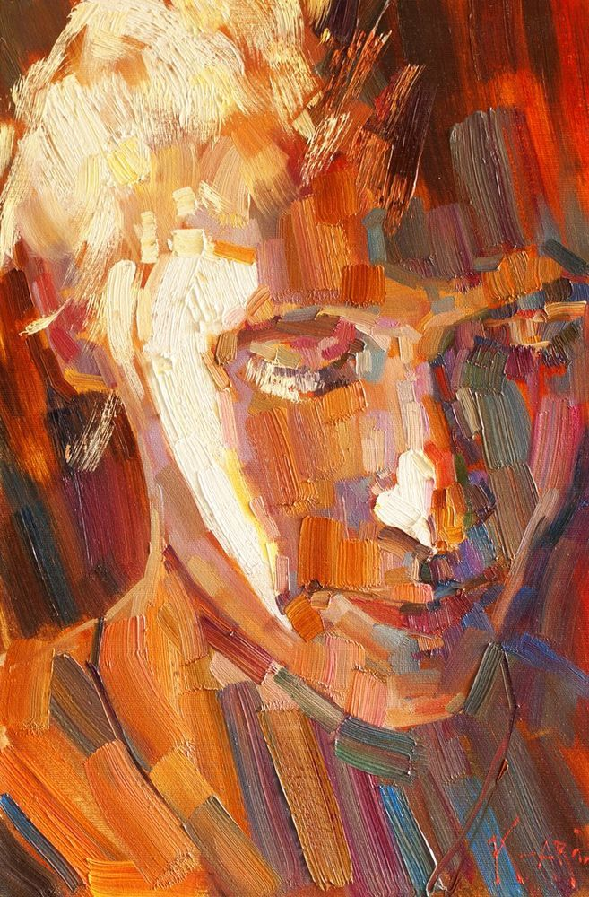 Konstantin Sukhopluev: Artist Painting Rain, фото № 35