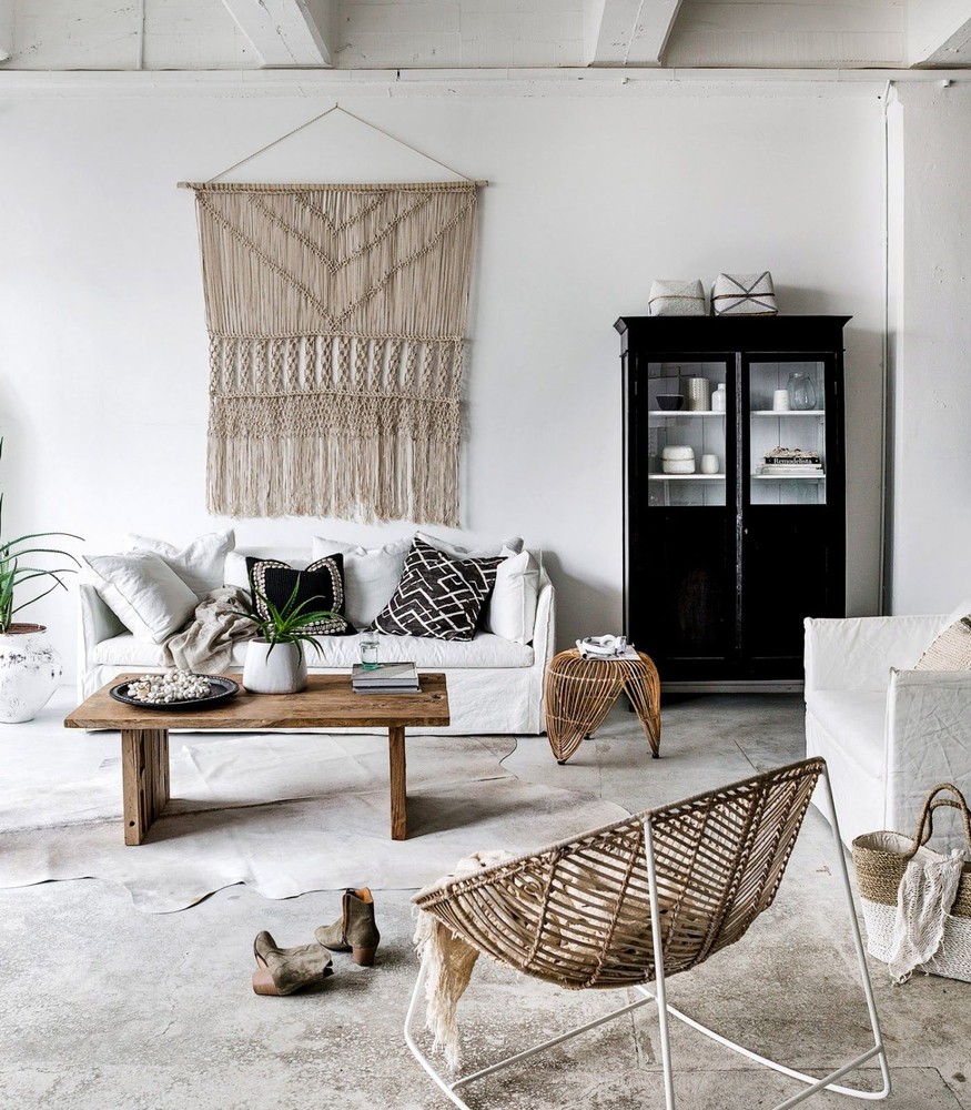 Tangled Story: 35 Ideas of Macrame in Interior, фото № 3