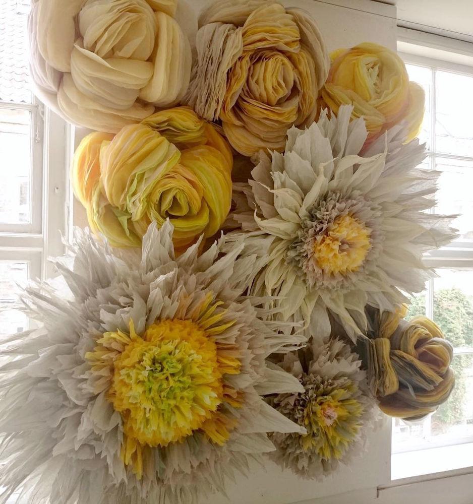 Потрясающие бумажные цветы датской художницы arianne riksen-cott ansen, фото № 42