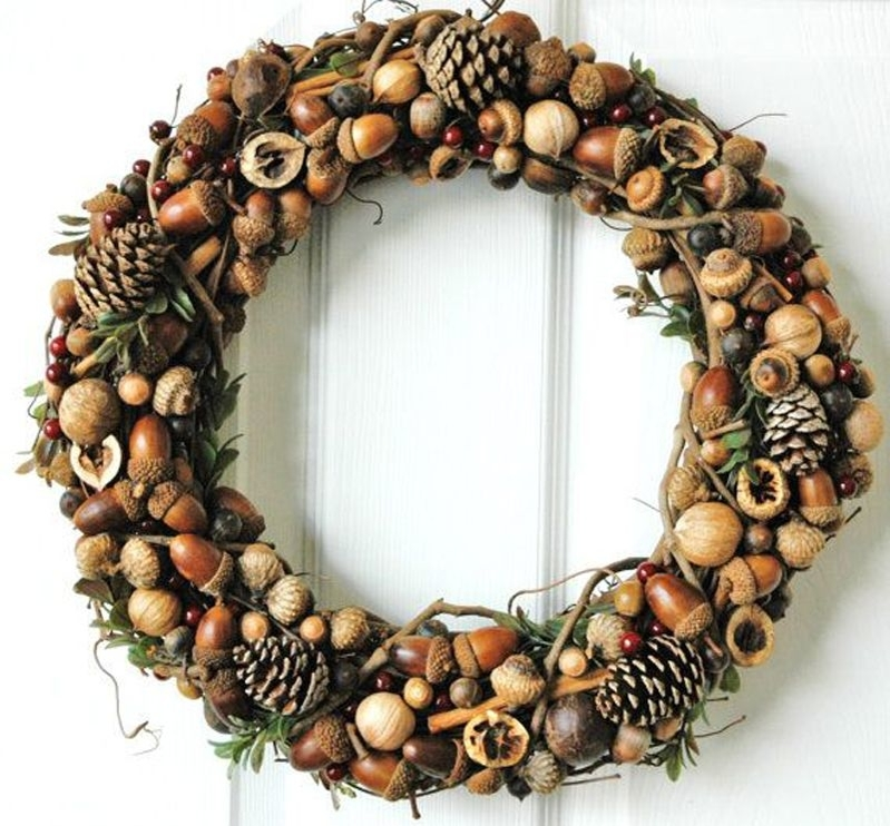22 Autumn Ideas For Creative Use Of Acorns, фото № 2