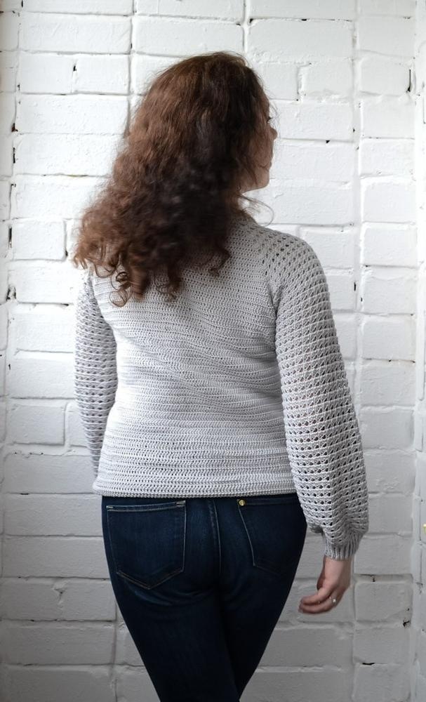 Бесшовный пуловер реглан, фото № 4