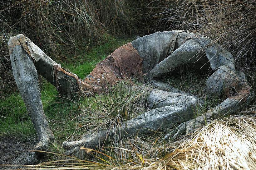 Скульптуры на природе. Пугающие и необычные, фото № 5