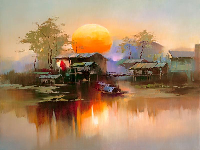 Кен Хонг Лунг — мастер волшебных пейзажей, фото № 6
