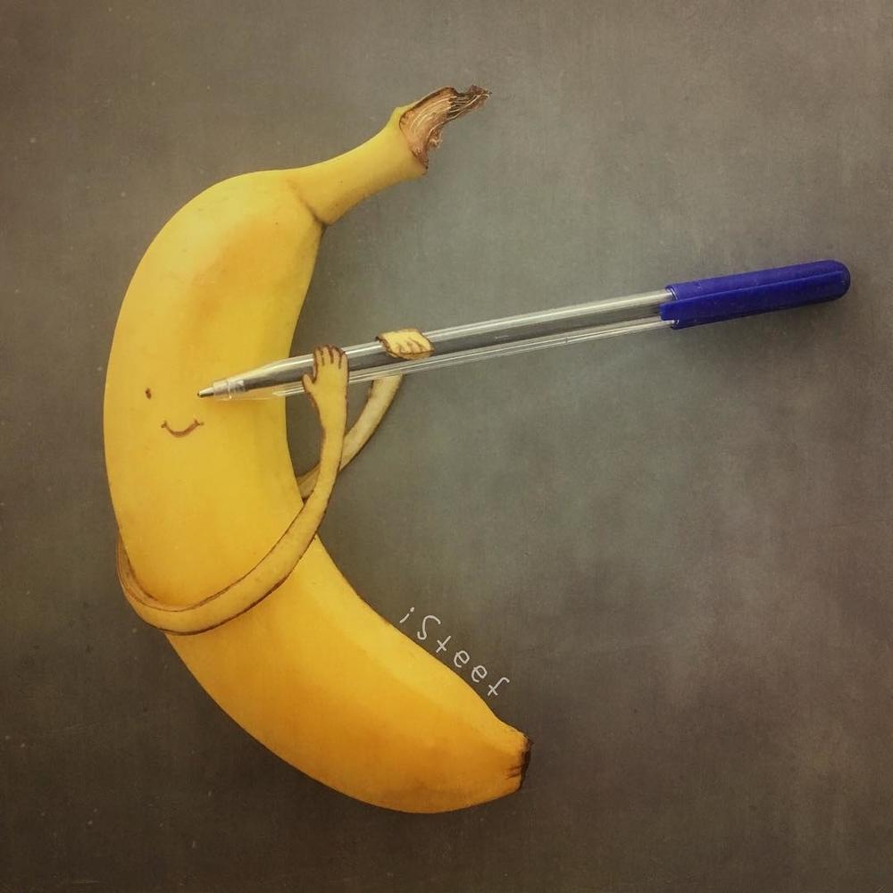 Повелитель бананов Стивен Брюче меняет наше привычное представление об этом фрукте в своём творчестве!, фото № 6